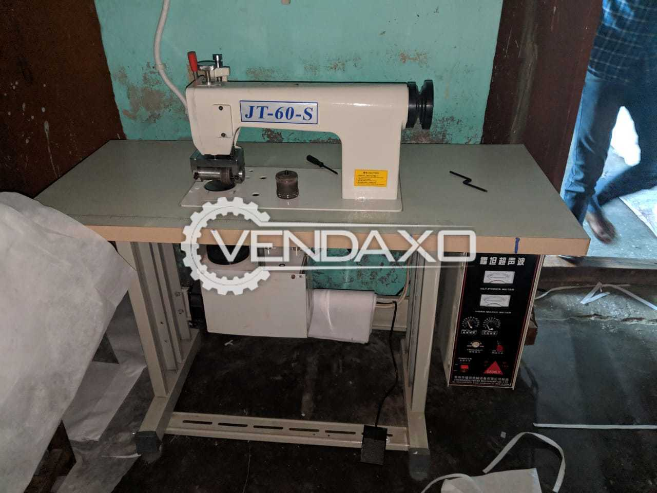 China Make Jt-60-S Ultrasonic Sewing Machine - 3000 Piece per day