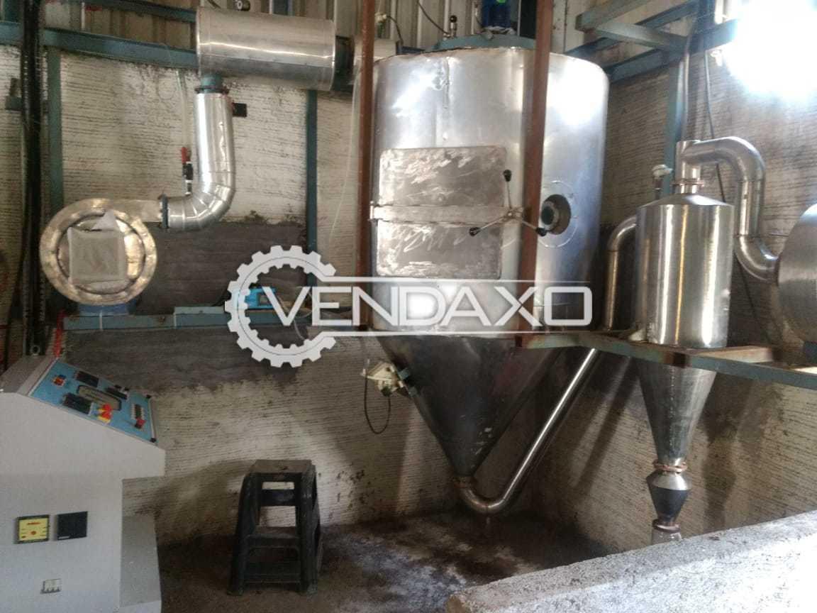 Indian Make Spray Dryer -  10 Liter/Hour