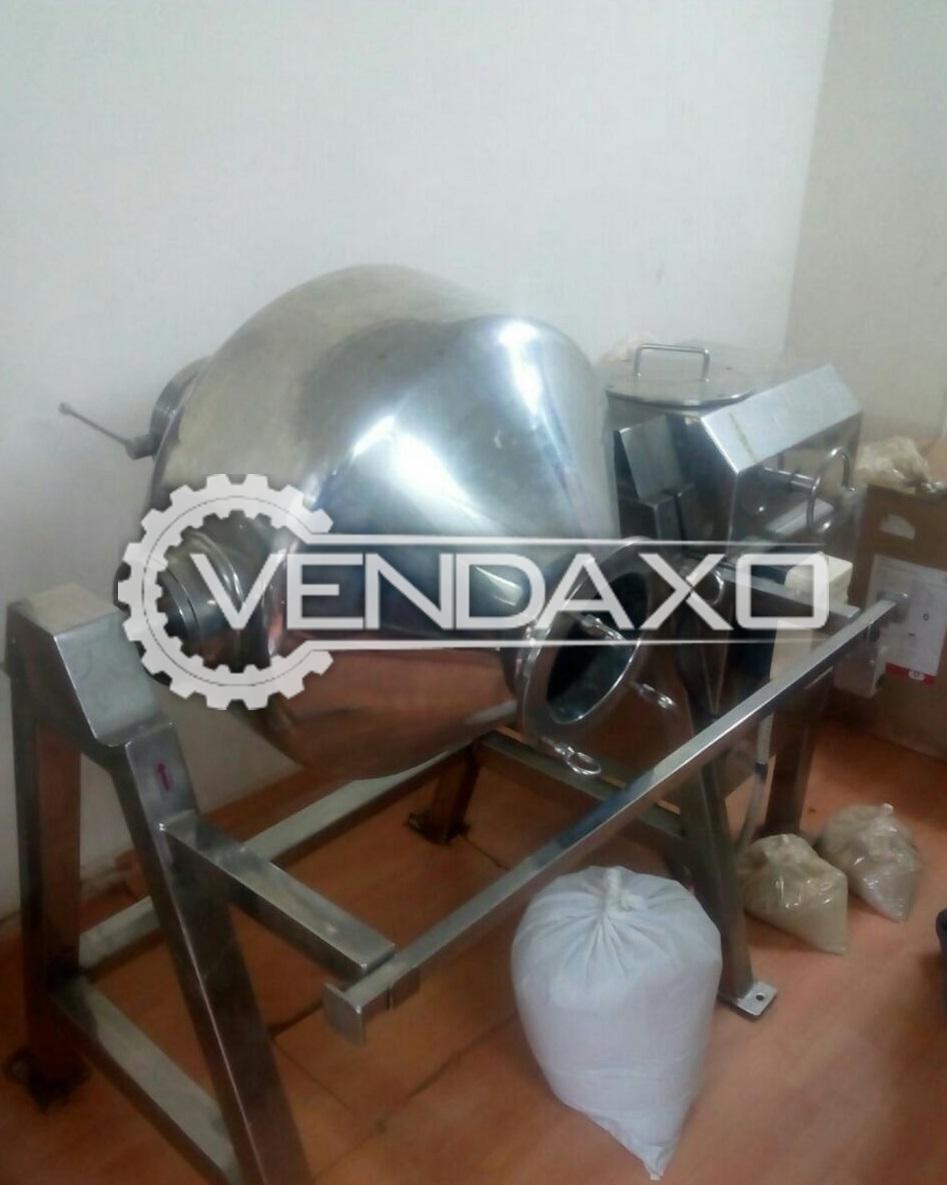 Anchor GMP Model Mass Mixer - 150 KG cap