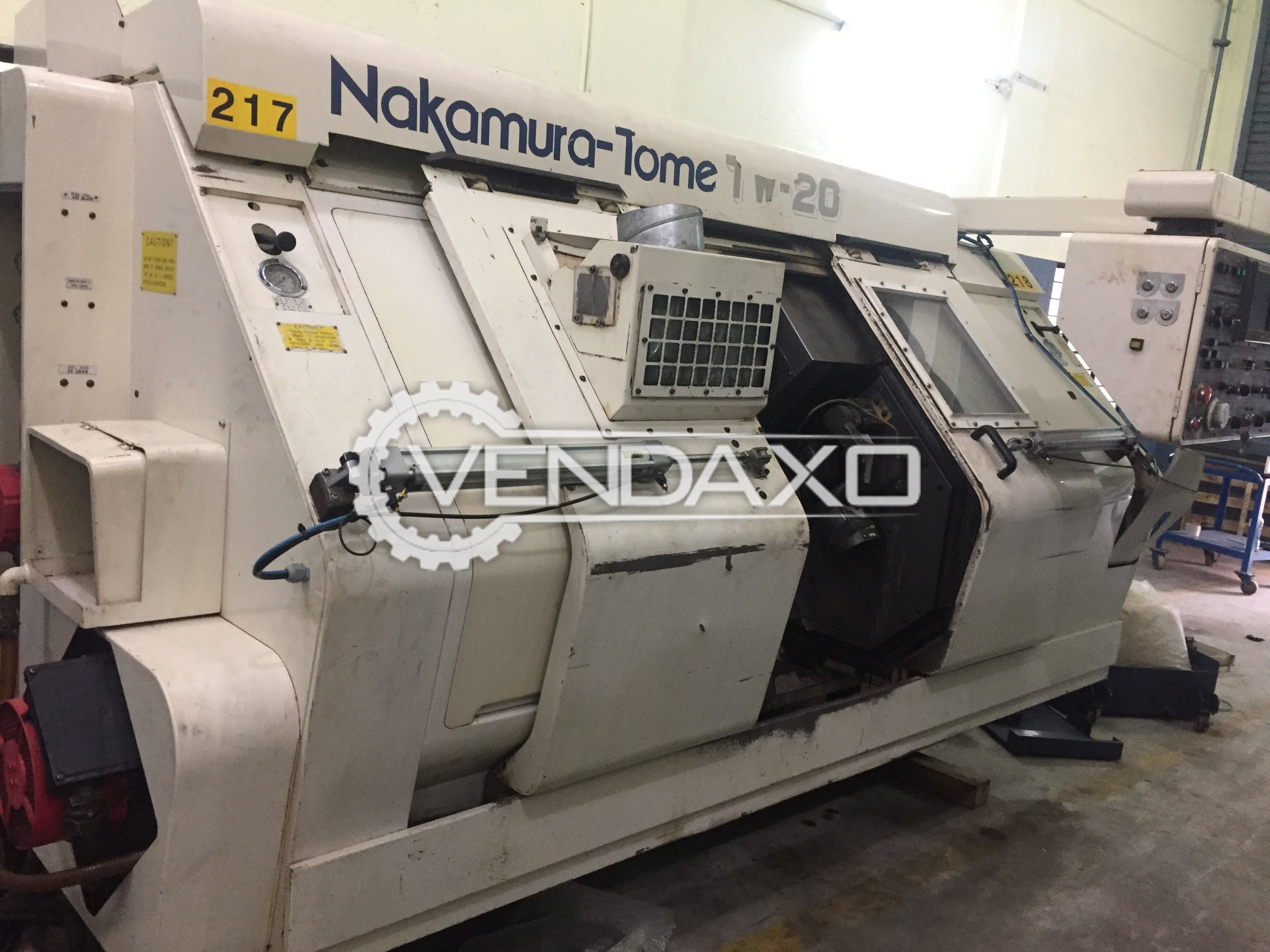 Nakamura Double chuck & Double turret CNC Turing Center Machine