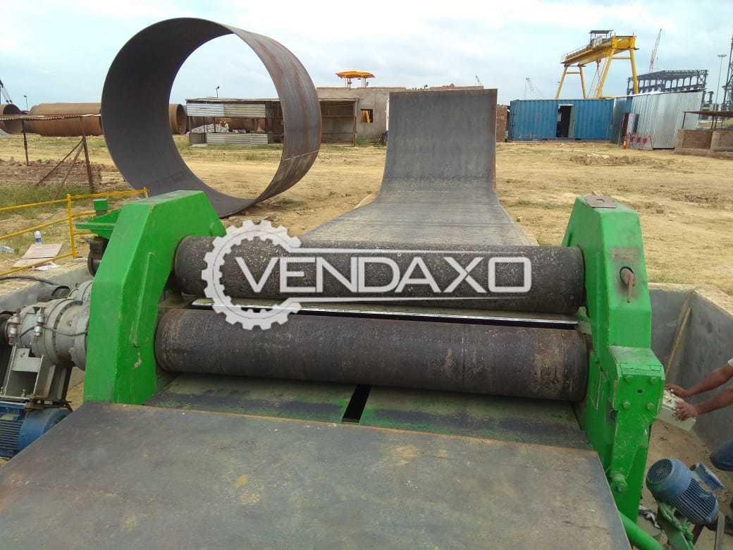 Mechanical Pre-Pinch Roll Plate Bending Machine - 25mm x 2.5 meter