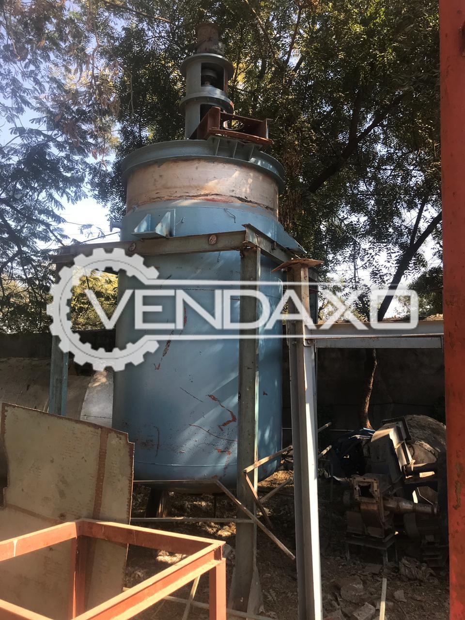 Indian Make Open Mixing Vessel with Agitator - 6 KL