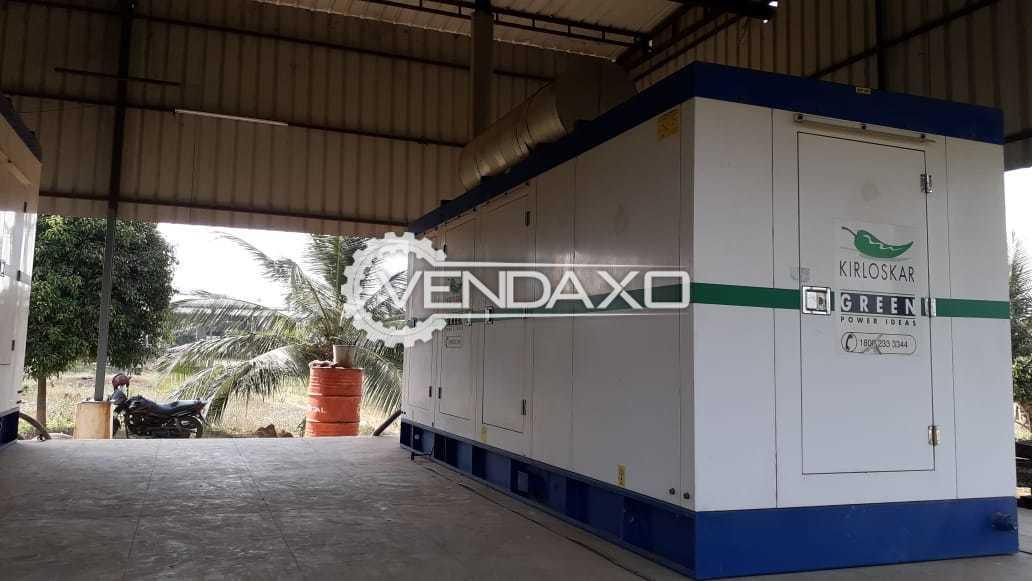Kirloskar Diesel Generator - 250 kVA, 2015 Model