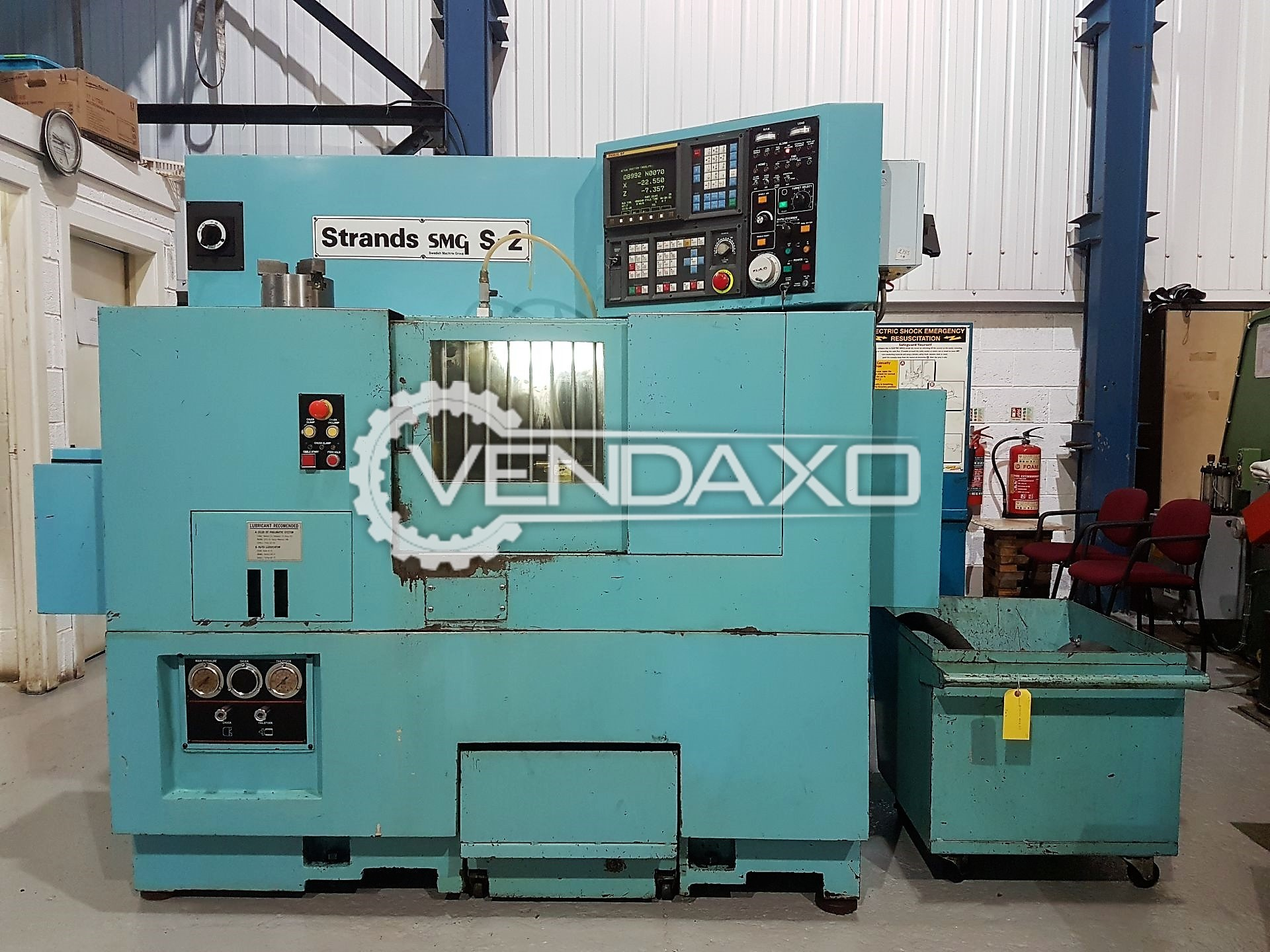 STRANDS SMG S-2 CNC Turing center