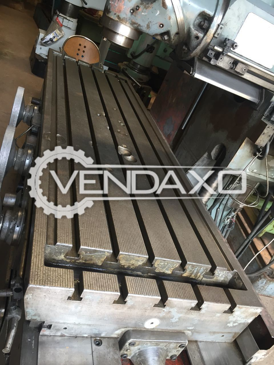 Bed milling machine 2