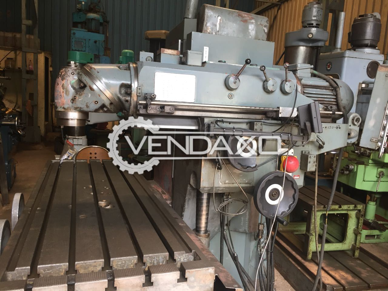 Bed milling machine 3