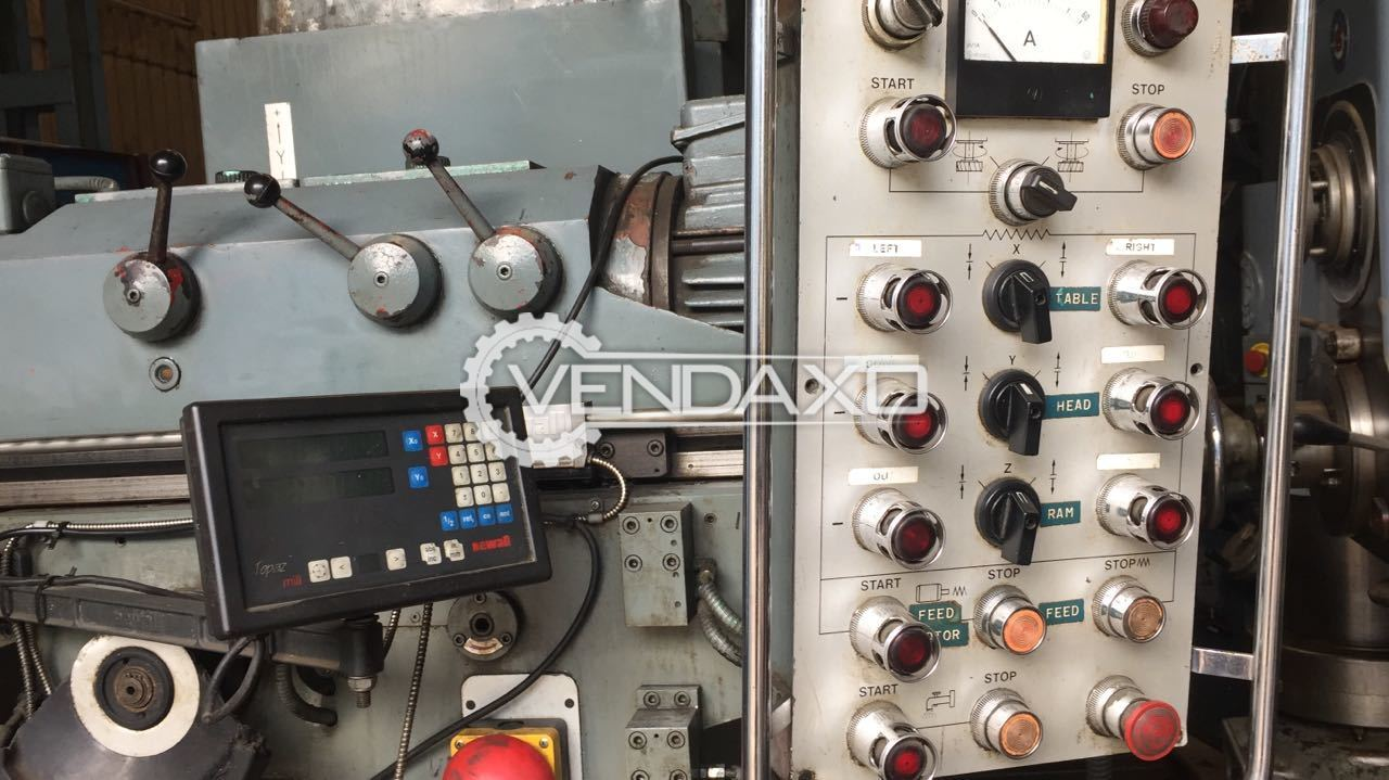 Bed milling machine 5
