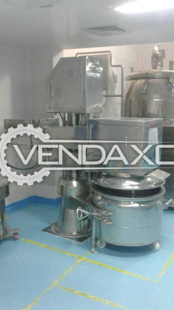Indian Make Planetary Mixer - 225 Liter