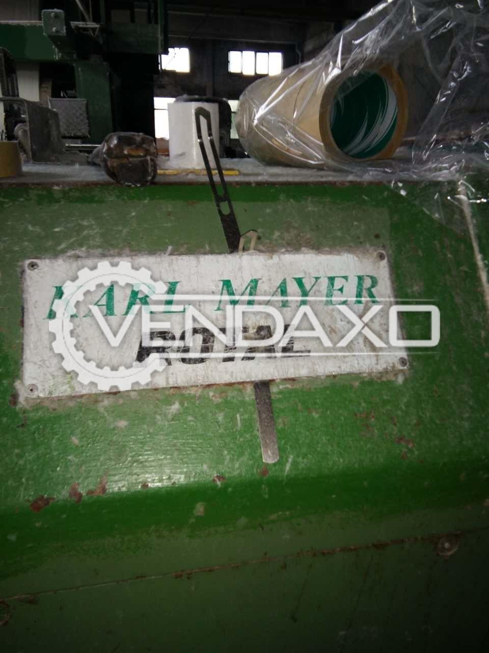 Karl mayer sizing machine 4