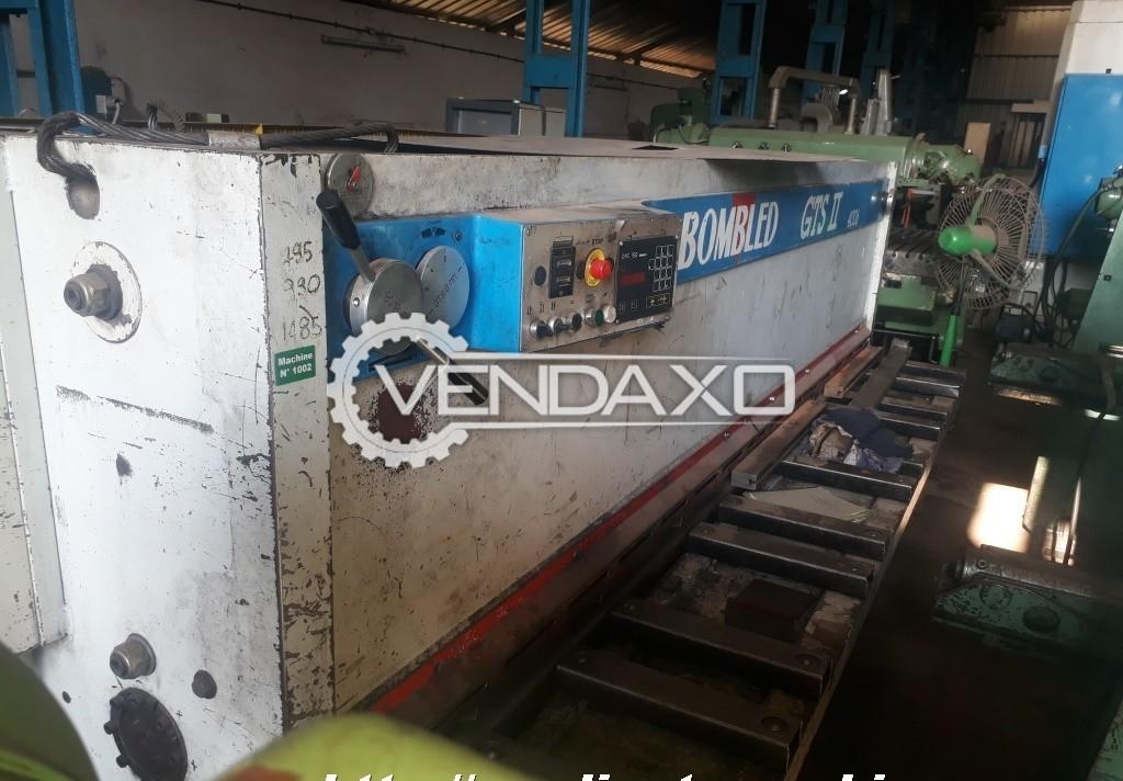 Bombles GSTII 4006  Shearing Machine - 6 mm x 4050 mm
