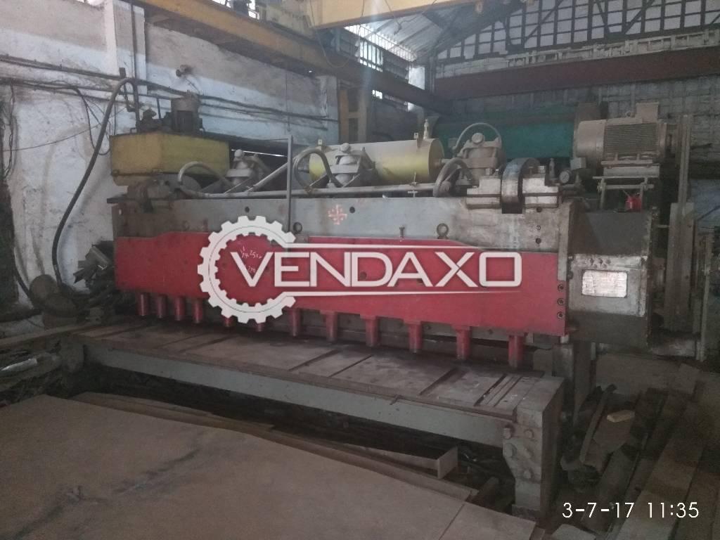 Shearing Machine - 3200 mm x 12 mm