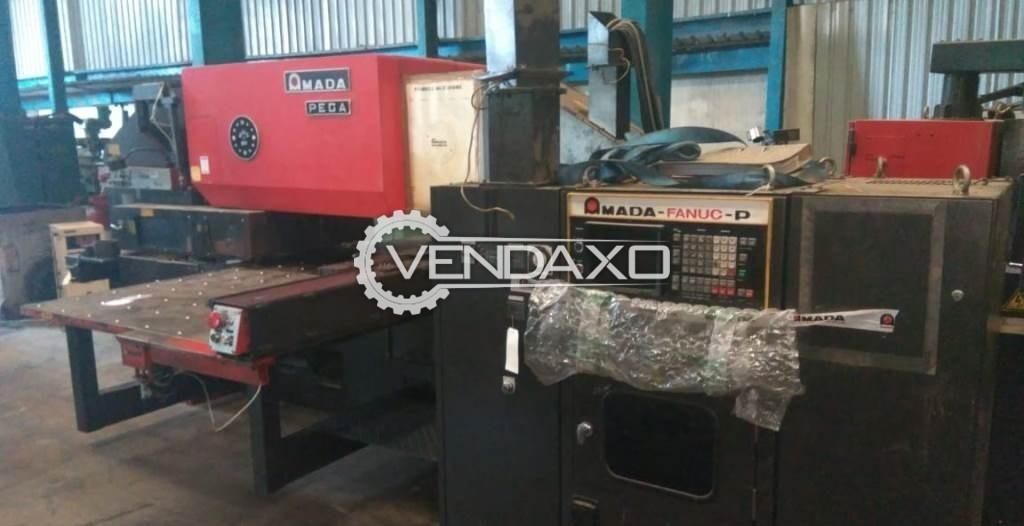 Used Amada Pega 357 CNC Turret Punching Machine - 30 Ton for