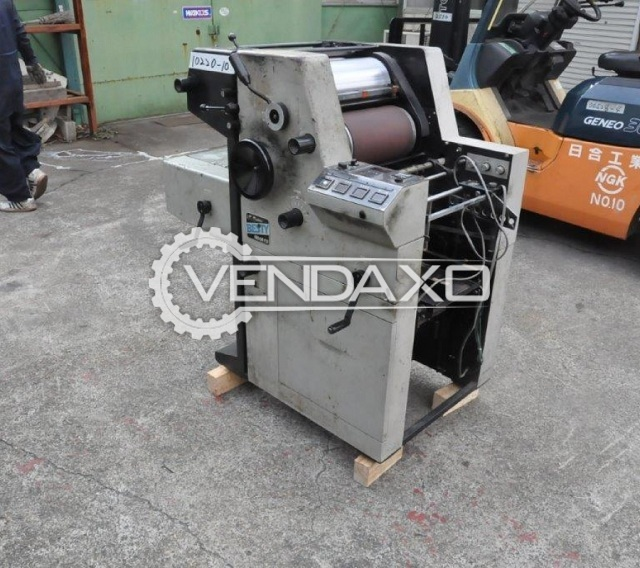 Used Toko 1800 Mini Offset Printing Machine 13 X 18 Inch Single Color For Sale At Best Prices Vendaxo