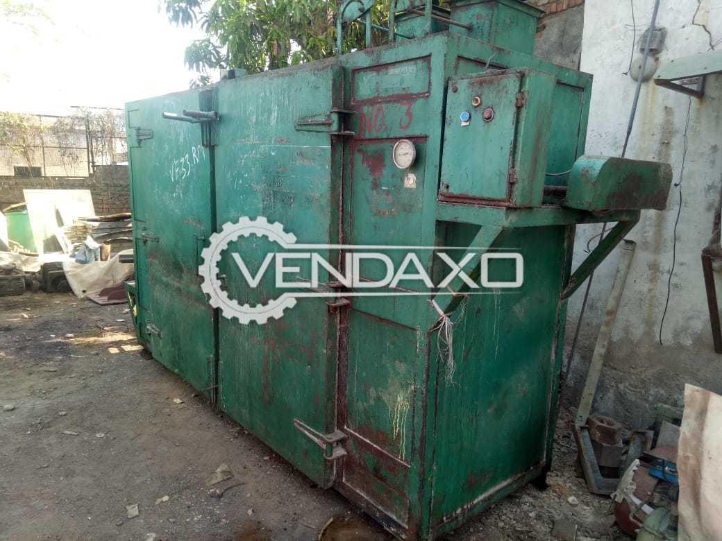 MS Steam Tray Dryer - 108 Tray