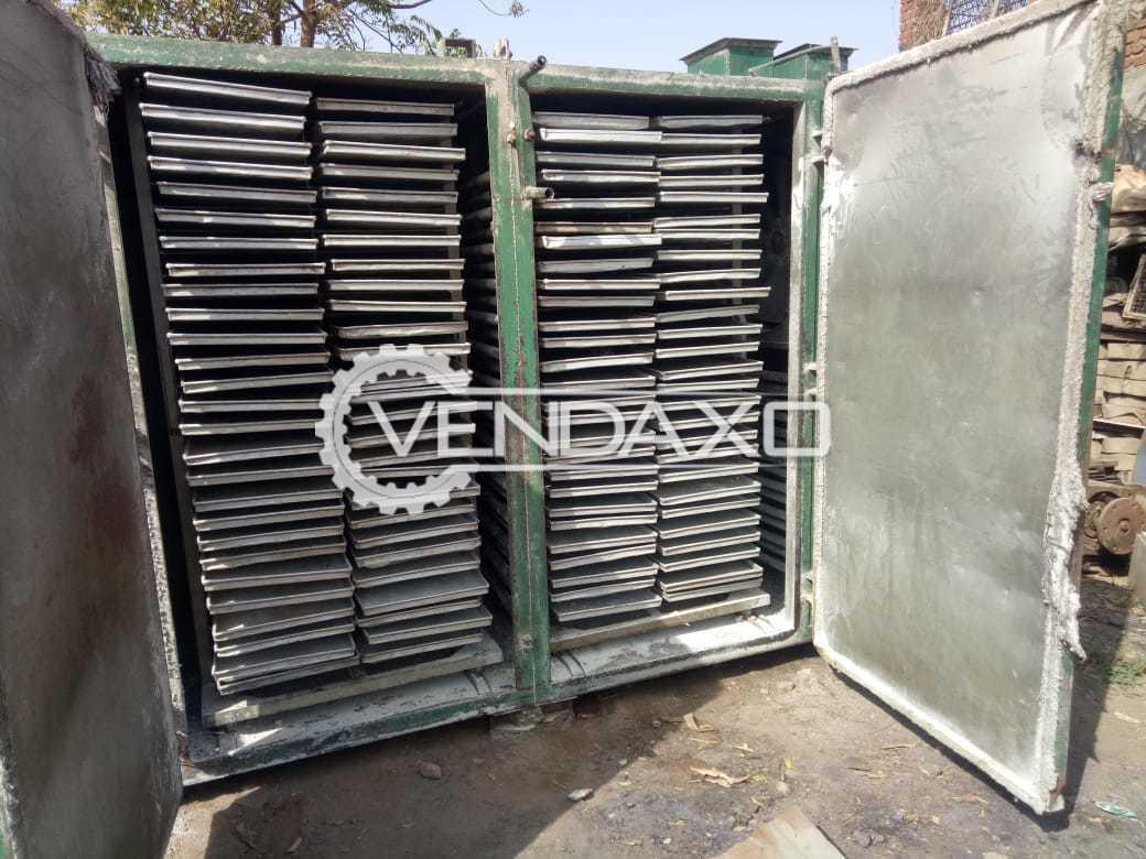 MS Steam Tray Dryer - 108 Aluminium Tray