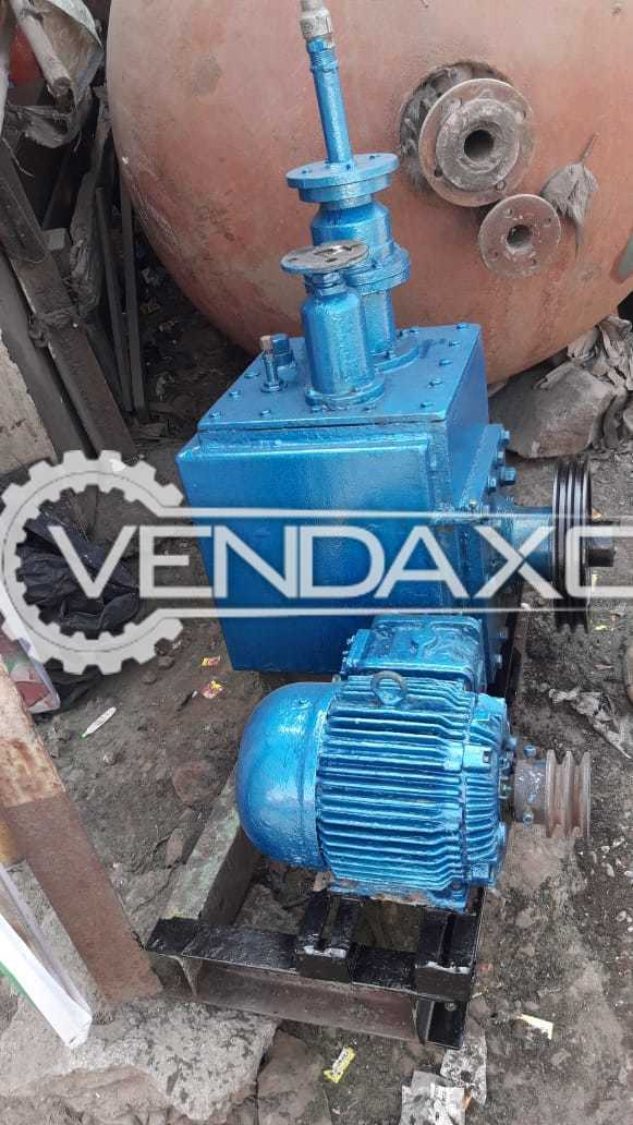 Oil Vaccum Pump -  3, 5, And 7.5 HP