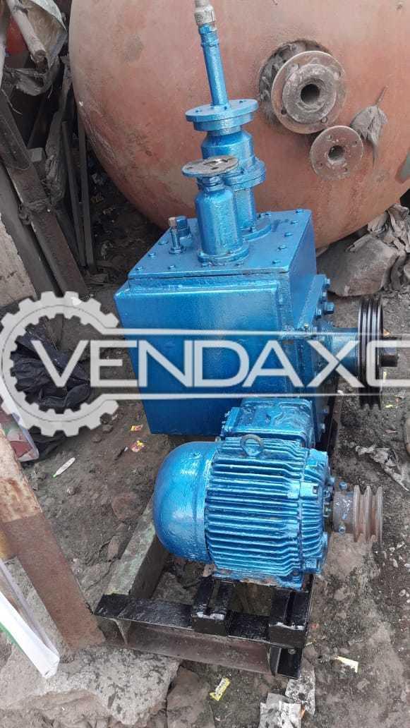 Oil Vaccum Pump -  3, 5, And 7.5 HP