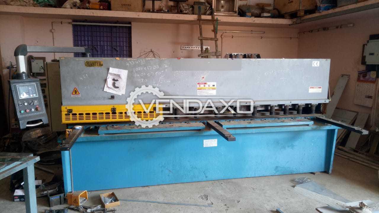 Master Make Hydraulic Shearing Machine - 3000 x 6 mm