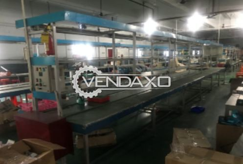 5 Set OF Assembly Line Single Conveyor - 10 Meter