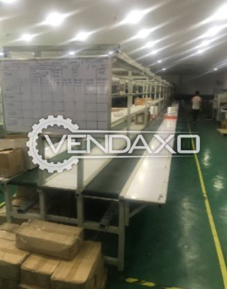 Packing Line Double Conveyor - 20 Meter