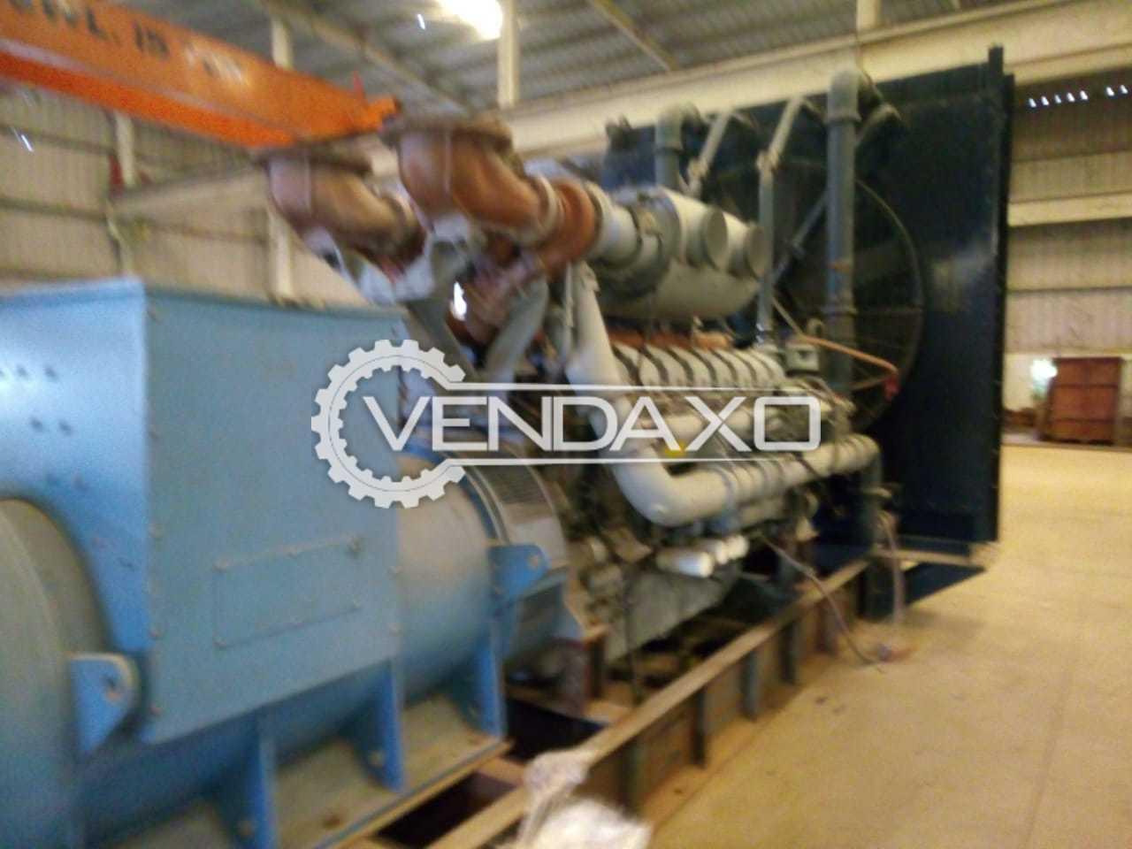 Leroy Somer Diesel Generator - 2000 kVA