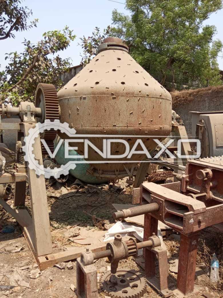 Roto Cone Vacuum Dryer (RCVD) - 2.5 KL