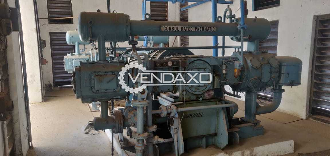 Consolidated Pneumatic Air Compressor - 90 HP