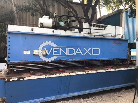 Beyeler Make Fully Hydraulic Shearing Machine - 4650mm x 15 mm