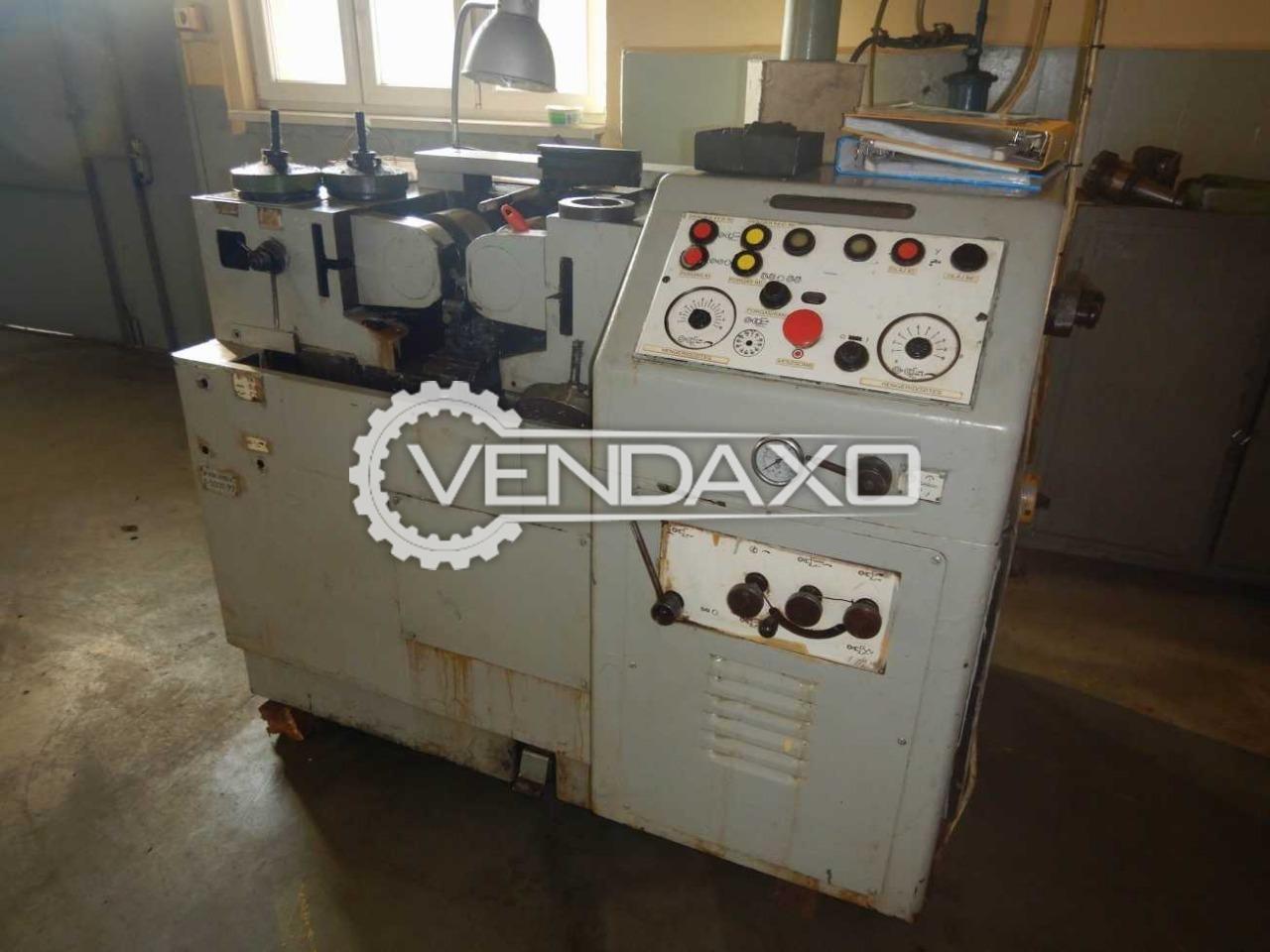 WMW UPW 25x100 Thread Rolling Machine -  Max.Roll Pressure : 25 Ton