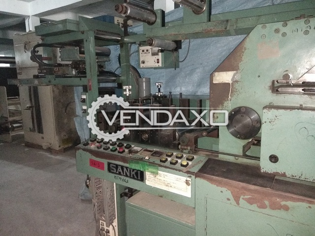 SANKI Label Printing Machine - 3 Color