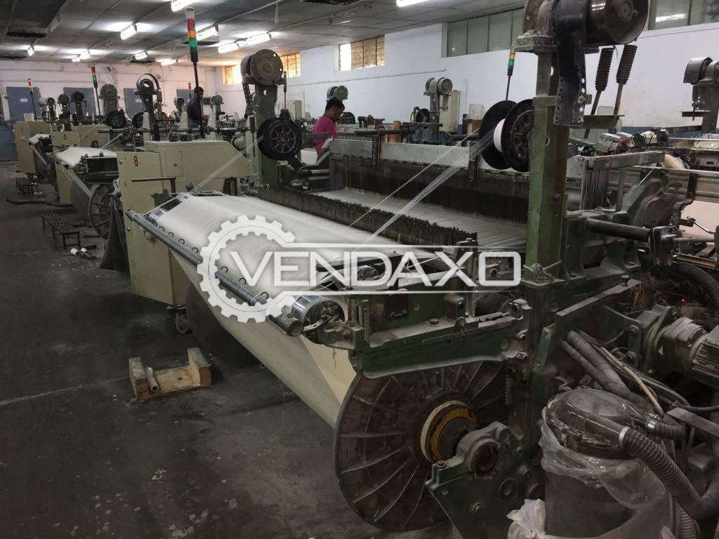 Picanol GTX Rapier Loom Machine - 190 CM, 4 Colour