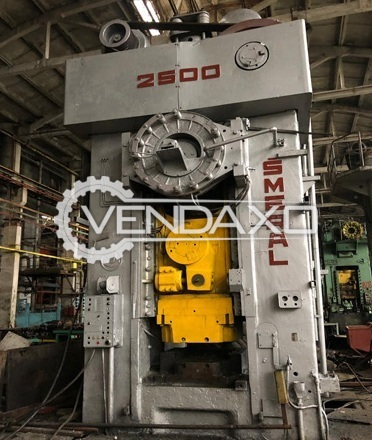Smeral LZK 2500 P Hot Forging Press - 2500 Ton