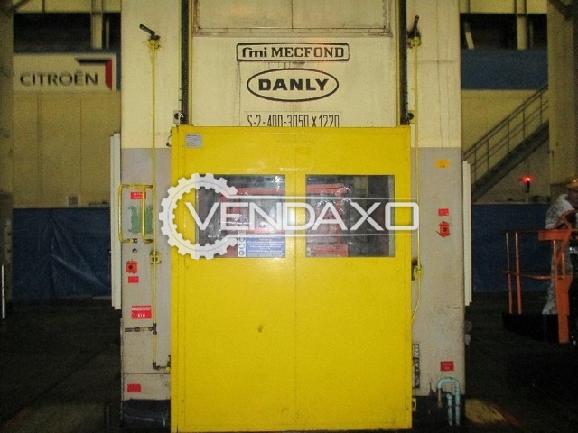 Danly-Mecfond S-2-400-3050 x 1220 Mechanical Press - 400 Ton