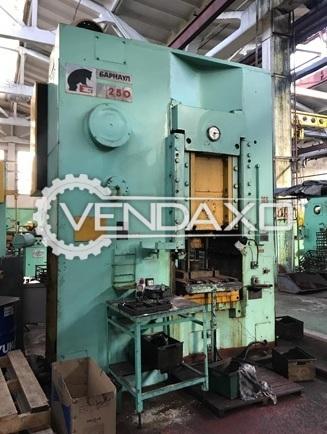 Barnaul KB0034 Knuckle Joint Press - 250 Ton