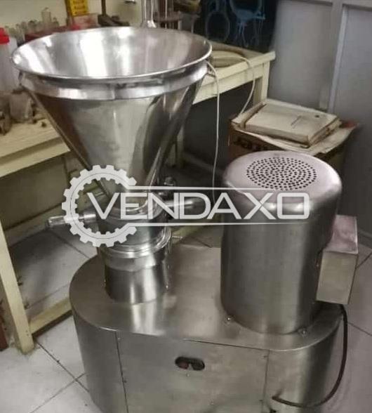 Indian Make Colloid Mill Machine - GMP Model