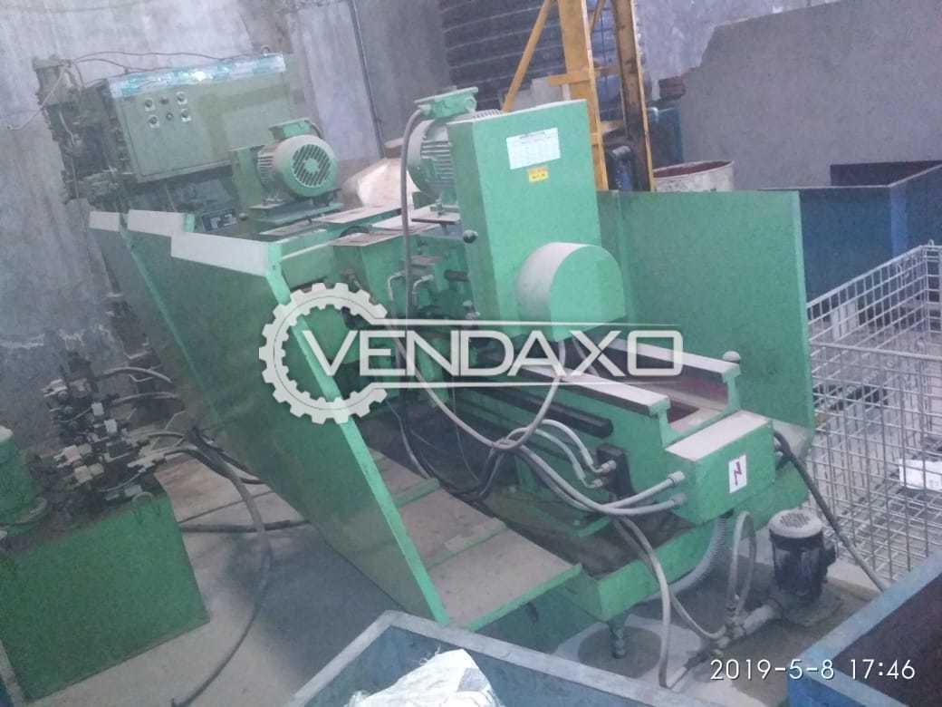 Pune Make Bundle Cutting Bandsaw and Centering Facing Machine - 250 mm