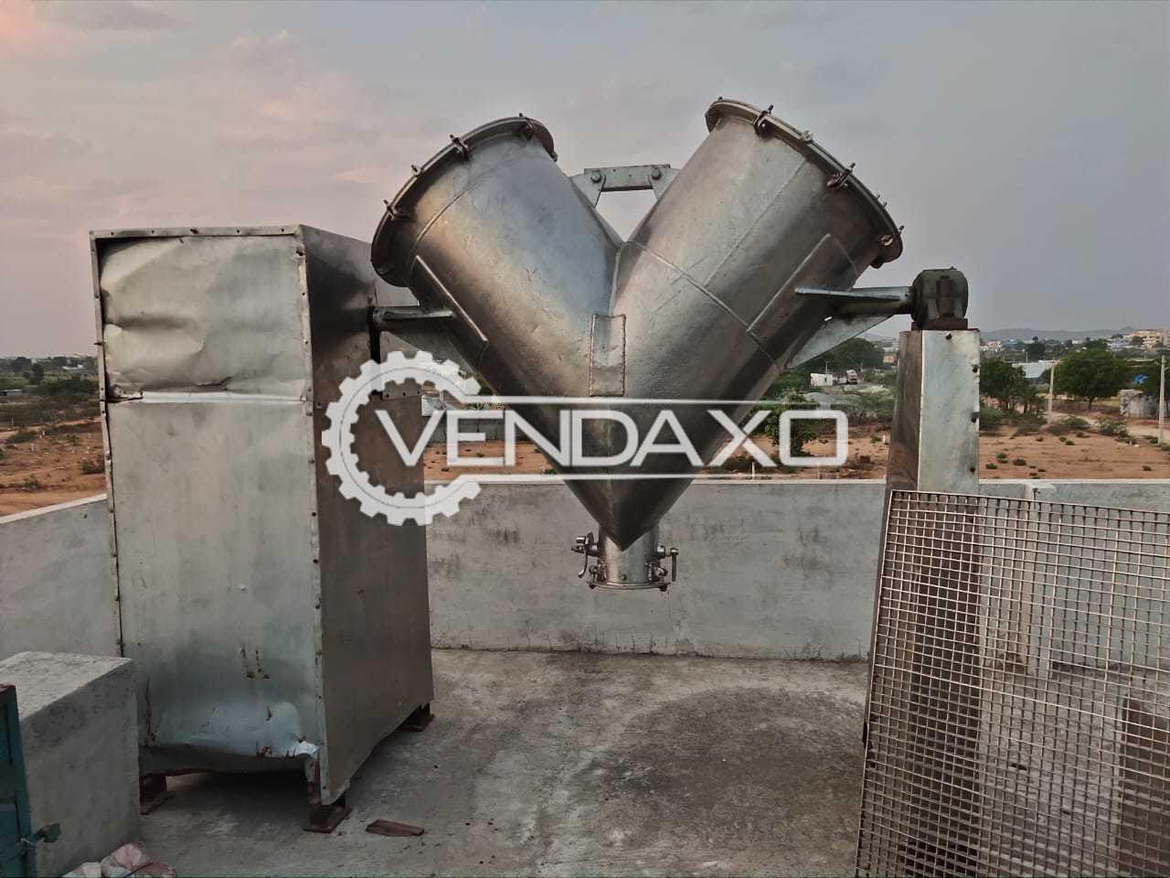 V Type Cone Blender - 500 Liter