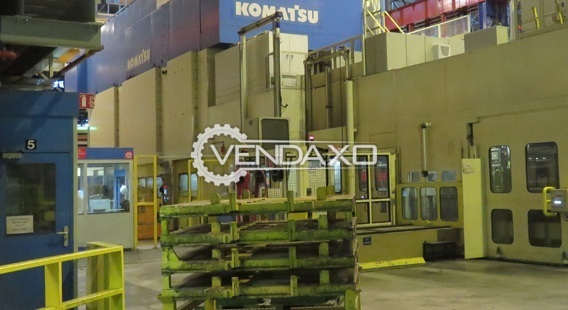 Komatsu Link Drive Transfer Hydraulic Press - 3250 Ton