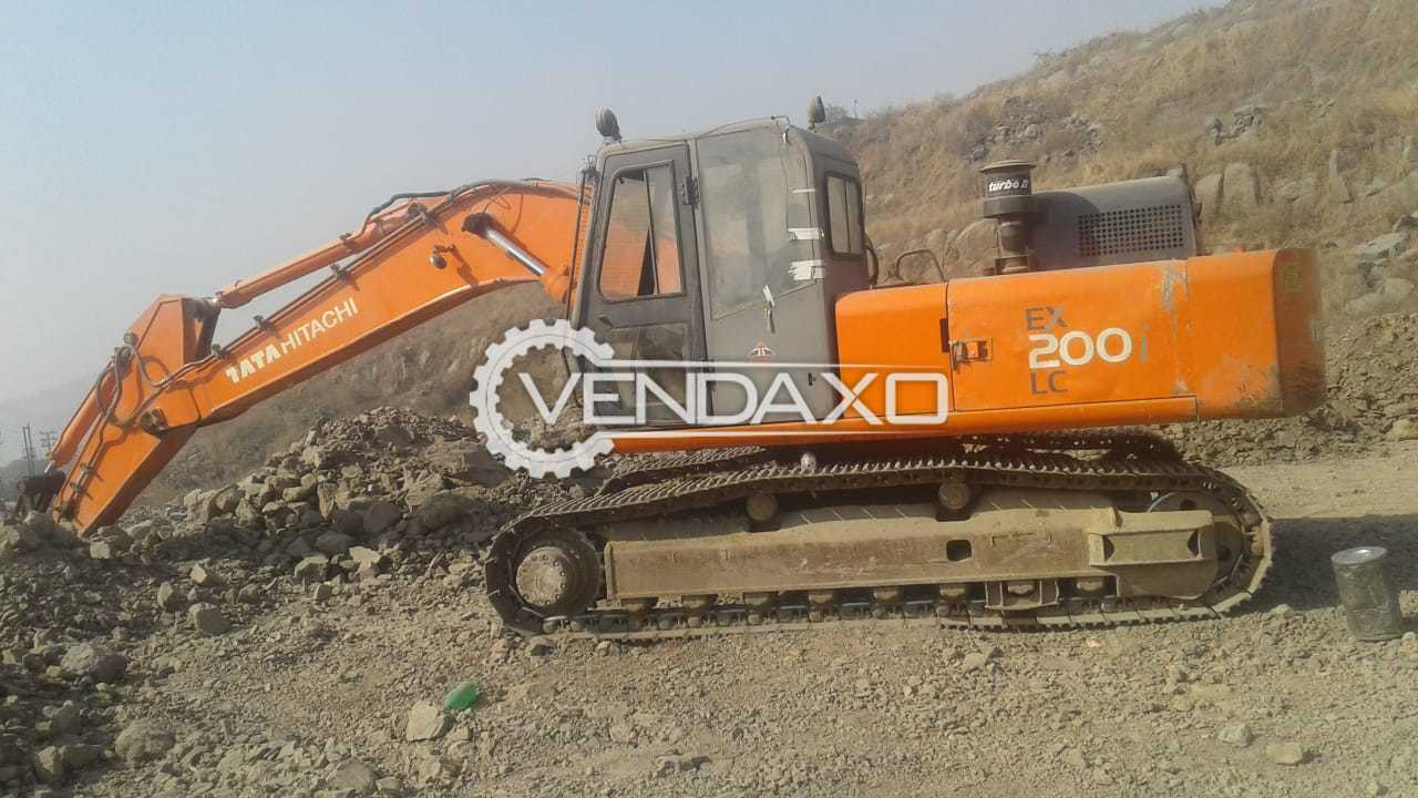 Hitachi EX 200 LC Excavator - Power - 133 PS @ 2000 RPM