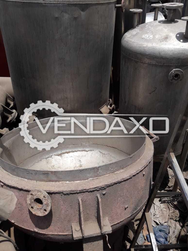 Indian Make Kadhai - 300 Liter