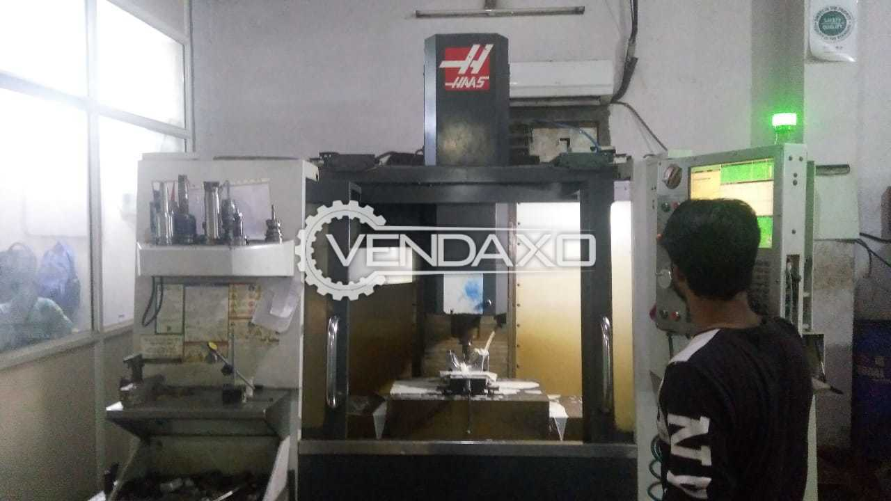 Used HAAS VF 3 CNC Vertical Machining Center - 1016 x 508 x