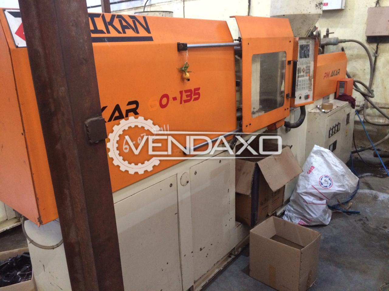 Akar Injection Moulding Machine - 60 Ton, 2011 Model