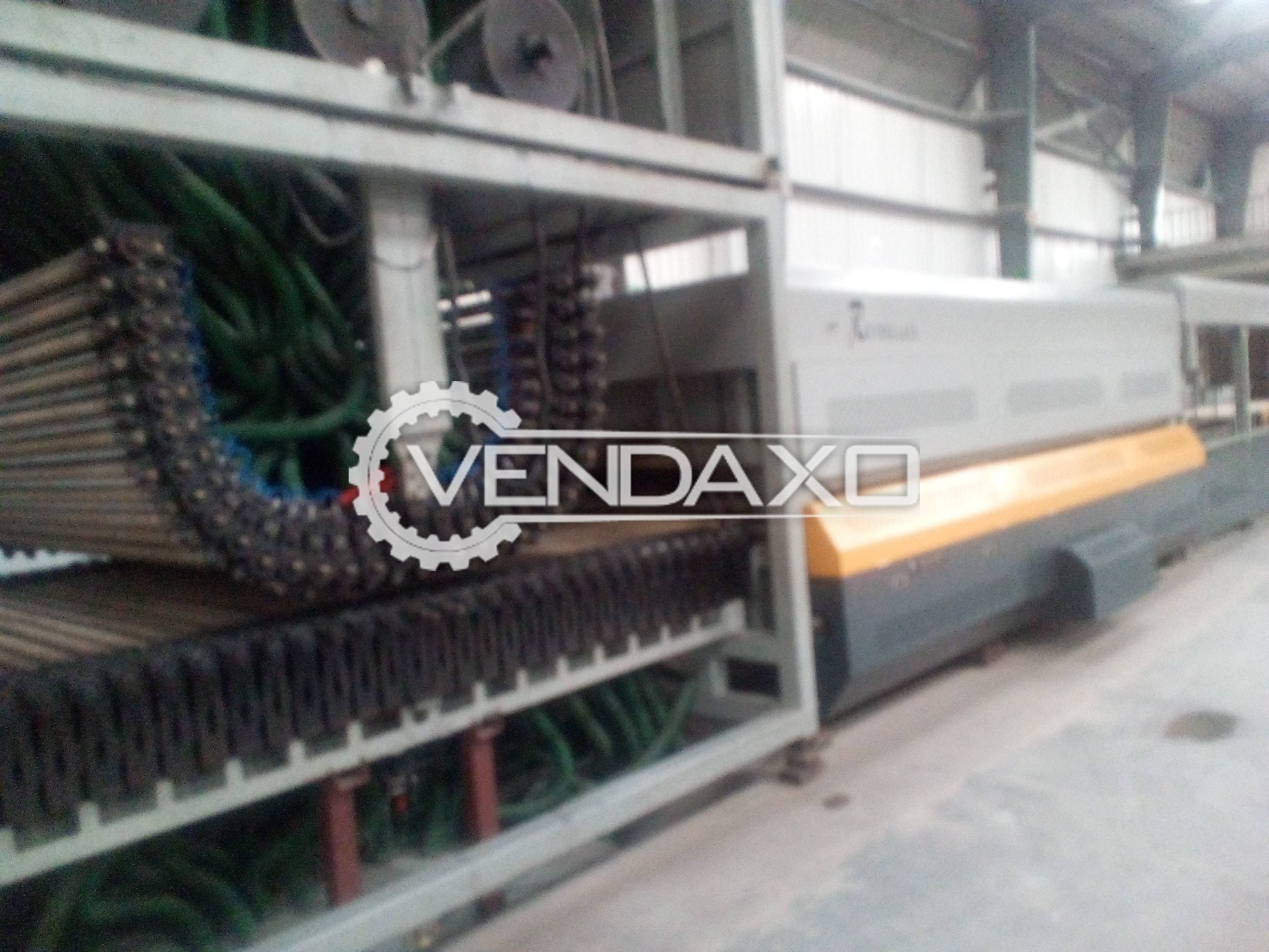 BEND & FLAT GLASS TOUGHENING PLANT (SHANGHAI REFINE GLASS) MODEL-YR-AB20251