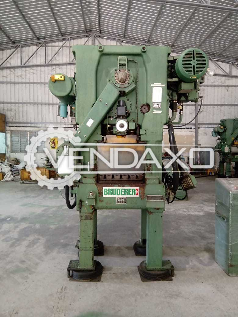 Available For Sale Bruderer High speed Stamping press - 25 Ton