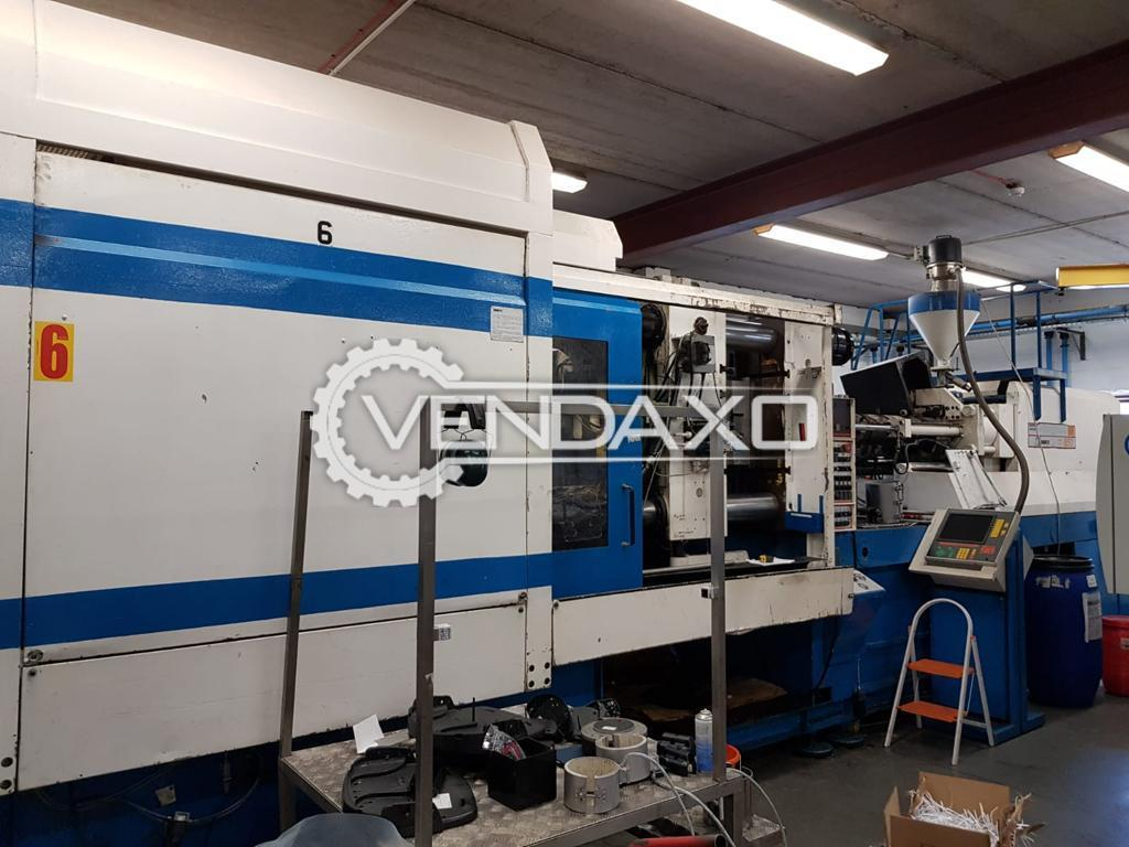 Sandretto Injection Moulding Machine - 650 Ton