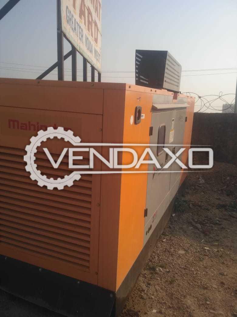 Mahindra Diesel Generator - 125 kVA, 2017 Model