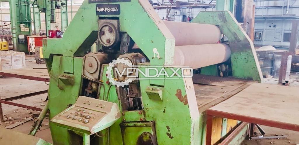 Himalaya Hydraulic Plate Rolling Machine - 16 x 2500 mm