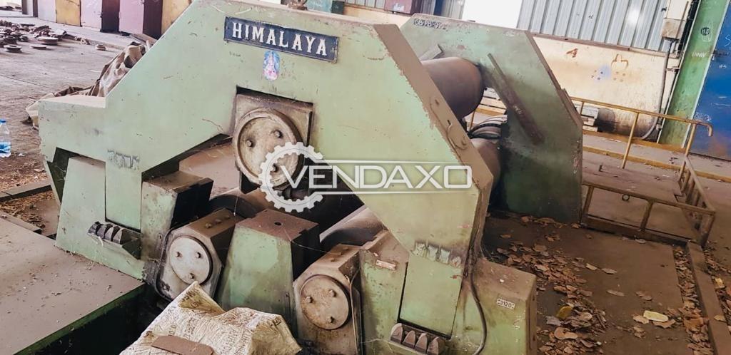 Himalaya Plate Rolling Machine - 50 x 2500 mm