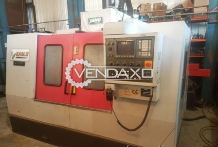 YANG SMV-1000 CNC Vertical Machining Center - Spindle speed : 8000 RPM