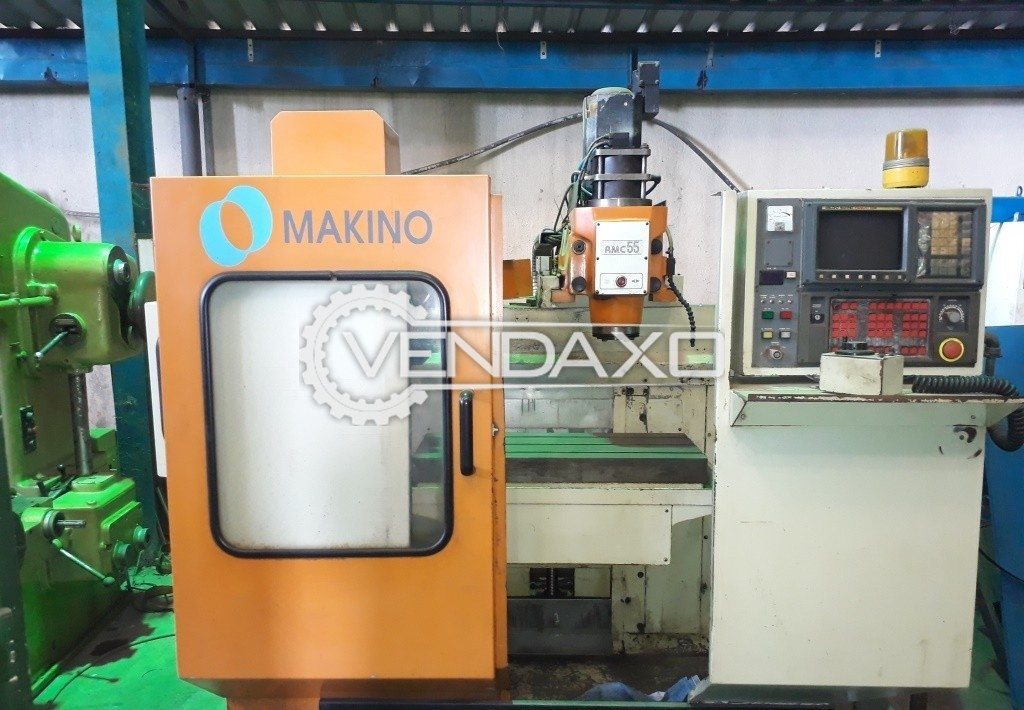 Makino RMC 55 CNC Vertical Machining Center - Table Size : 800 x 320 mm